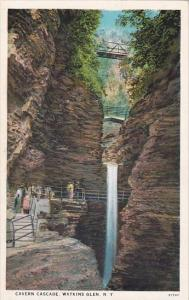 New York Watkins Glen Cavern Cascade