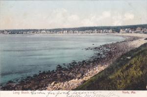 YORK, Maine, 1900-1910's; Long Beach