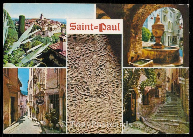 Souvenir of Saint-Paul