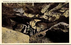 New Hampshire Polar Caves Entrance To Famous Lemon Squeezer