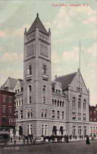 NEWARK , New Jersey , Post Office , 1910