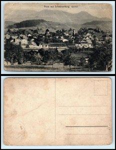 SWITZERLAND Postcard - Schwarzenburg, Bahnhof FF
