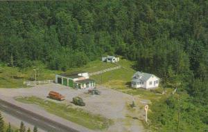 Aerial View, Culbert Fuels, Service Station, BURK'S FALLS, Ontario, Canada, 4...