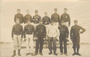 Military Postcard RPPC Group WW1 Army 02.79