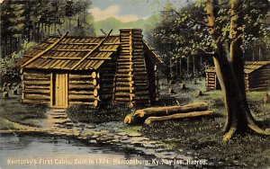KY's First Cabin Built in 1774 Harrodsburg KY