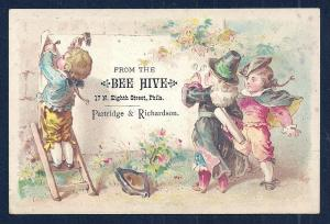 VICTORIAN TRADE CARD The Bee Hive