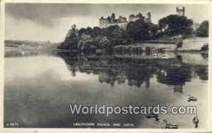 Linlithgow Palace, Loch Scotland, Escocia Postal Used Unknown