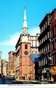 Massachusetts Boston Old South Meeting House