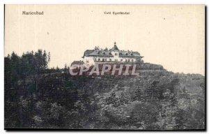 Old Postcard Marienbad Cafe Egerlander