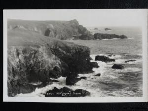 c1920's RPPC - Old Lizard Head - Cornwall