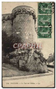Old Postcard Poitiers Tower I & # 39Oiseau
