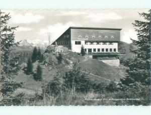 old rppc HAHNENKAMM BERGSTATION Ehrwald - Near Innsbruck Austria i2249
