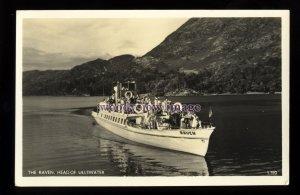 f1483 - Lake District Excursion Ferry - Raven - postcard