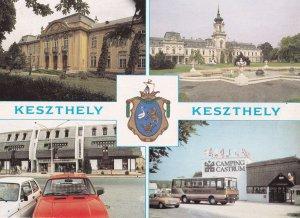Camping Castrum Keszthely Hotel Coach Shops Budapest Postcard