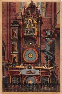 Rotating Wheel L'Herloge Astron de la Cathedral de Strasbourg Unused