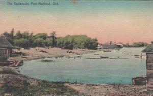 PORT MAITLAND , Ontario , Canada , 1900-10s ; The Esplanade