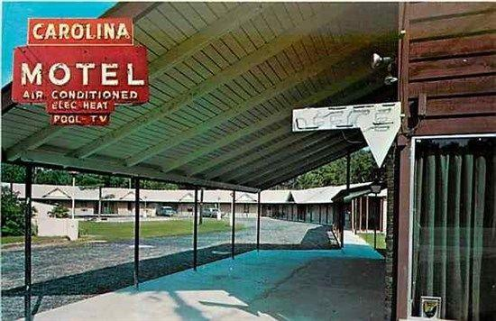 SC, Rigeland, South Carolina, Carolina Motel & Esso Station