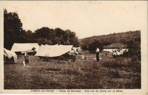 CPA Samois Camp de Barbeau FRANCE (1101222)