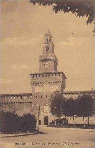 Italy Milano Torre del Filarete Il Castello