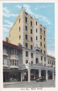 MIAMI , Florida, 10s-20s; Hotel Ritz