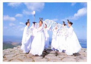 Seven Nimphs On Ch'Amsung-Dan, Korea, South, 1950-1970s