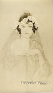 Approx Size 5 1/4 In X 9 1/4 In created for Ziegfield Follies House of Art in...