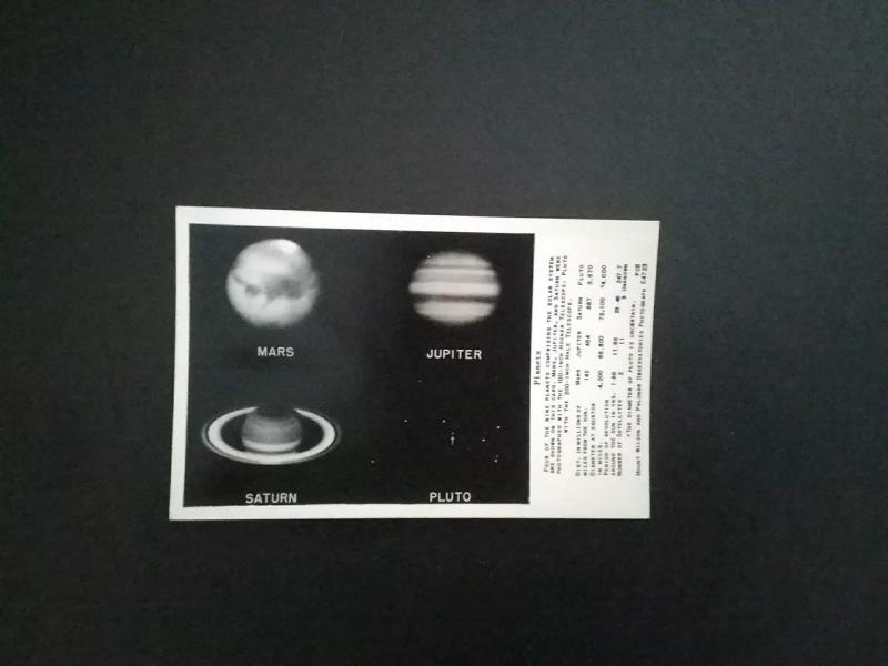 Mount Wilson and Palomar Observatories RPPC Postcards    Astronomy