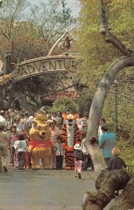 Disneyland Adventureland Entrance Winnie the Pooh Plaza Gardens