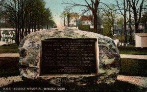 Connecticut Winsted D A R Boulder 1909