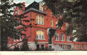 North Chili New York Chesbrough Seminary Roberts Hall Antique Postcard J52871