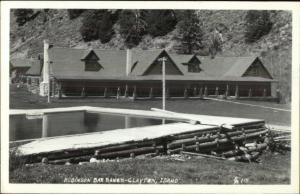 Clayton ID Robinson Bar Ranch Real Photo Postcard