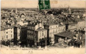 CPA AVIGNON - Panorama pris de l'Hotel-de-Ville (511659)