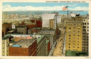 OH - Cleveland. Euclid Avenue looking West