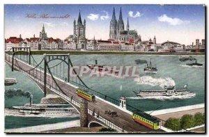 Old Postcard Koln Charter