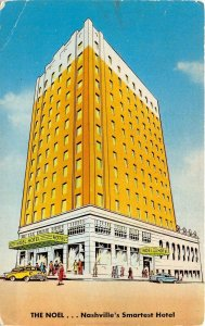 Nashville Tennessee 1950s Postcard The Noel Hotel