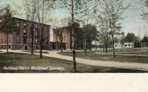 PORTLAND , Maine , 1900-10s ; Westbrook Seminary