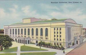 Louisiana New Orleans Municipal Auditorium Curteich
