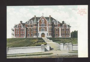 SOUTH BEND INDIANA ST. JOSEPH'S HOSPITAL VINTAGE POSTCARD