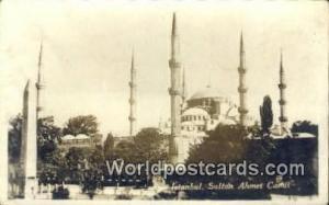 Turkey Sultan Ahmet Camii