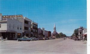 Main Street , LA SARRE , Quebec , Canada , 50-60s