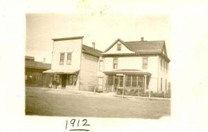 USA  - 1912, Hotel and Grocery Store - RPPC