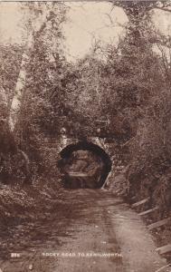 RP, Rocky Road To Kenilworth (Warwickshire), England, UK, PU-1930