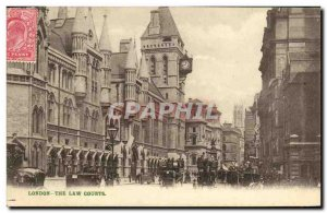 Old Postcard London The Law Courts