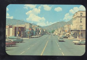CANON CITY COLORADO DOWNTOWN STREET SCENE OLD CARS VINTAGE POSTCARD COL.