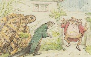 The Tale of Mr Jeremy Fisher Beatrix Potter 1906 Book Postcard