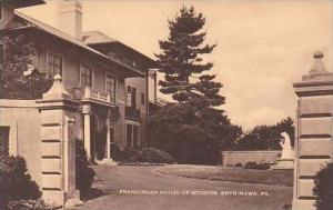 Pennsylvania Bryn Mawr Franciscan House Of Studies Artvue
