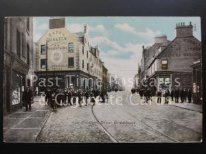 Old PC Greenock, West Blackhall Street showing MACS?IONS STORE & DRAPERY SHOP