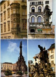 239755 Czechoslovakia OLOMOUC SET of 12 postcards in COVER