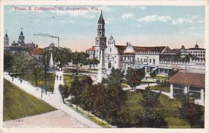 Florida St Augustine Plaza & Cathedral 1927