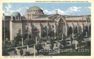 Palace of Varied Industries 1915 Panama International Exposition, San Francis...